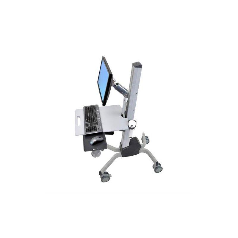 Ergotron neo flex lcd cart grau computertisch 599 00 for Mobel computertisch