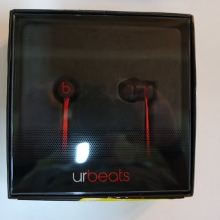 urBeats In-Ear Headphones - Matte Black
