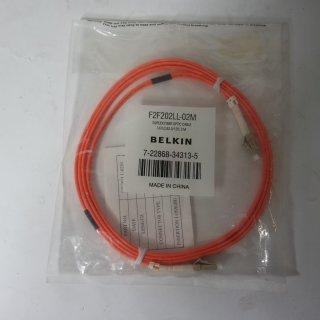 Belkin Fiber Optic Duplex Cable LC/LC 2M