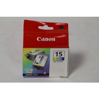 BCI-15 Color ink cartridge Gelb Tintenpatrone