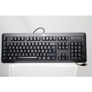 HP Promo USB CCID SmartCard Keyboard QWERTY