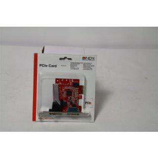 Lindy 2S 16C950 Seriell-Karte PCIe - Zubehör PC