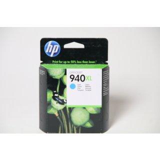 HP 940XL Cyan   Tintenpatrone mit hoher Reichweite  06/2018