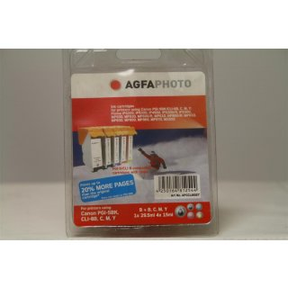 AGFAPHOTO ET080SET Epson RX265 Tinte SET 6x13m