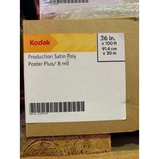 "Kodak Production Satin Poly Poster Plus / 8mil, 91,4cmx30m (36""x100ft)"