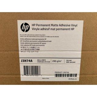 HP Vinyl - matt - selbstklebend 266 Mikron - Rolle (152,4 cm x 91,4 m) - 280 g/m² -