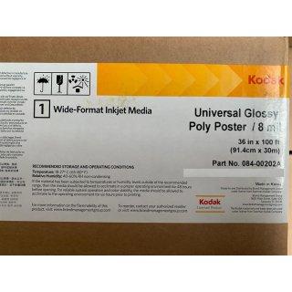 Kodak Universal Glossy Poly Poster (8 Mil)- 91,4 cm x 30m (36in x 100ft )