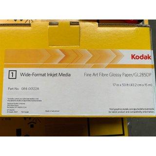 """Kodak Professional Fibre Glossy Fine Art Inkjet Paper 43,2 cm x 15 m  (17"""" x 50 Roll)"""