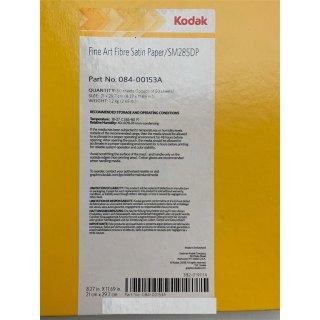 Kodak Papier A4 21 x 29,7 cm Fine Art Fibre Satin Paper 285g 50stk