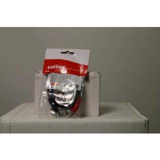 ROLINE Audiokabel - Mini-Phone Stereo 3,5 mm (M)