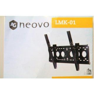 AG Neovo LMK-01 Flachbildschirm-Wandhalterung 165,1 cm (65 Zoll) Schwarz