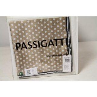 Passigatti Tuch Beige mit weißen Punkten  Größe 53/53 col.13