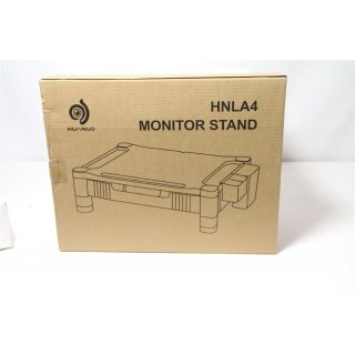 HUANUO HNLA4 Monitor/Printer Stand Riser with Storage Drawer