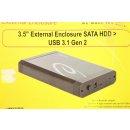 DeLock 3.5 Externes GehäUse SATA HDD > USB 3.1 Gen 2