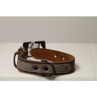 Beeztees Tweedy - Hundehalsband - Braun - 24-33 cm