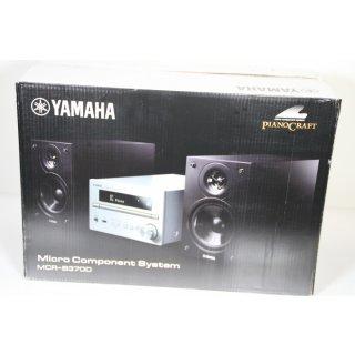 Yamaha PianoCraft MCR-B370D Microanlage silber/Piano schwarz