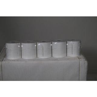 Veit 50x EC Thermorollen 57mm x 40m x 12mm ØRolle 56mm BPA-frei 55g/qm, SEPA-Aufdruck, für handelsübliche Kassendrucker geeignet, Kassenrollen aus Thermopapier