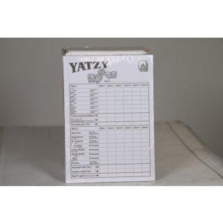 Yatzy - Spielblöcke 3er
