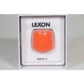 Lexon MINO X Bluetooth-Lautsprecher, wasserfest, Orange