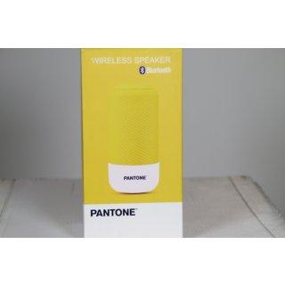 Pantone Bluethoothlautsprecher 5 W gelb
