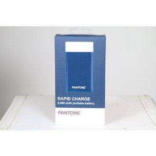 PANTONE Powerbank 6000 mAh blau