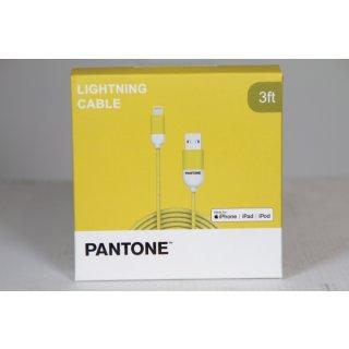 PANTONE Kabel Lightning USB 1m gelb