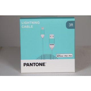 PANTONE Kabel Lightning USB 1m türkis