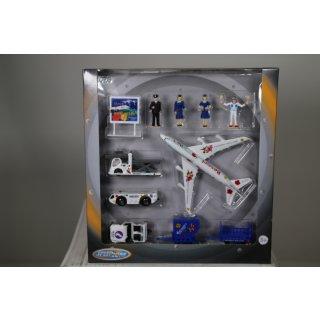 Speed Zone D/C Flughafen Spielset