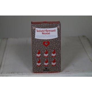 Moses 17102 Teelichtkarussell Weihnachten  Wichtel 1 Stück