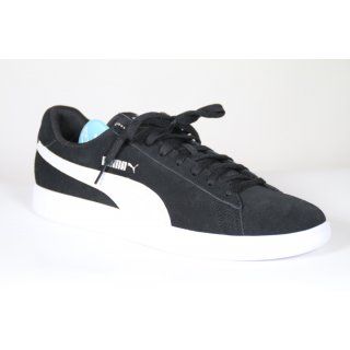 PUMA Unisex Adults Smash v2 Sneaker, schwarz 44,5 EU