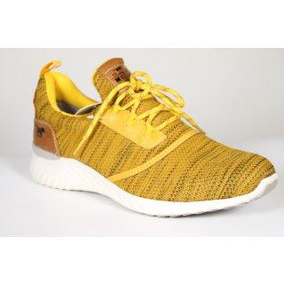 MUSTANG Herren 4132-301 Sneaker, Gelb (Gelb 6), 42 EU