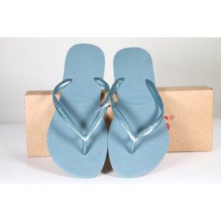 Havaianas Damen Slim , silver blue, 7606, 41/42