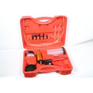 Vakuumpumpe Bremsenentlüftungsgerät Kfz Werkzeug Motorrad Druckpruft VakuumtestHer 17 x 5 x 25 cm