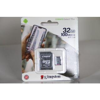 Kingston 32 GB microSDHC UHS-I