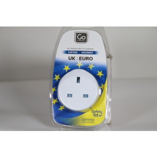 Go Travel UK-EU Adaptor Netzstecker-Adapter Typ C