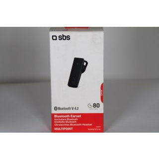 SBS Wireless Headset mit Bluetooth 4.2, Mikrofon, 4 Stunden Musik
