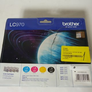 Brother LC970 Value Pack - 4er-Pack