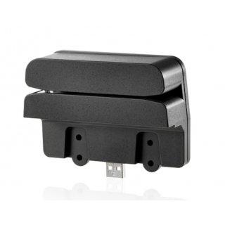 HP Retail Integrated Dual-Head MSR - Magnetkartenleser - USB